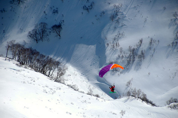 Kamchatka speed riding